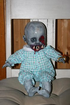 this little man and more creations can be witnessed on the Creepy-Ass Dolls Facebook page. By Stacey Leigh Brooks.