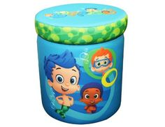 Nickelodeon Bubble Guppies Totally Guppies Storage Ottoman by Nickelodeon, KID'S CLOTHES AND NURSERY to buy just click on amazon here http://www.amazon.com/gp/product/B00CMCQMV0?ie=UTF8=213733=393177=B00CMCQMV0=shr=abacusonlines-20&=baby-products=1375848655=1-103 A REAL DEAL http://a-real-deal.com