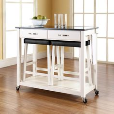 Nice Kitchen Island Cart Modern Small Kitchen Carts On Wheels With Metal  Countertop In Style   Add More Beauty To Your Kitchen Space
