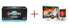 Hasbro Games Cranium Dark Board Game and Disney Infinity 30 Edition Starter Pack for Xbox One  Bundle