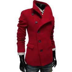 Gabe's Coat, button style and collar