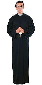 Naamiaisasu; Pappi  Perinteinen Papin asu standardikokoisena. #naamiaismaailma