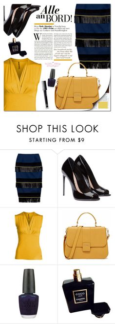 """Katie May Boutique #11"" by edita-m ❤ liked on Polyvore featuring OPI, Chanel, Make and KatieMayBoutique"
