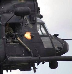 Chinook mini gun