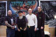 Tattoo World together with legend Herbert Hoffmann (RIP)