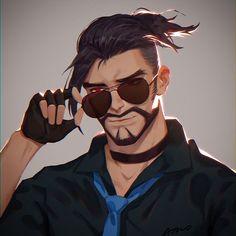 Overwatch Hanzo, Overwatch Fan Art, Overwatch Drawings, Male Character, Character Design, Shimada Brothers, Genji And Hanzo, Hanzo Shimada, Cool Drawings
