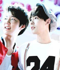 Seunghoon and Jinwoo ♥