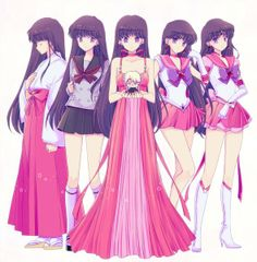 Sailor Mars transformations