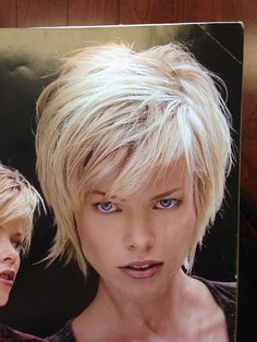 Face framing… - All For Little Girl Hair Short Hair With Layers, Short Hair Cuts For Women, Layered Hair, Shaggy Short Hair, Short Shag Hairstyles, Short Haircut, Razor Cut Hair, Shortish Hair, Medium Hair Styles
