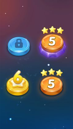 [Game level icon design] copyright: jingx ...