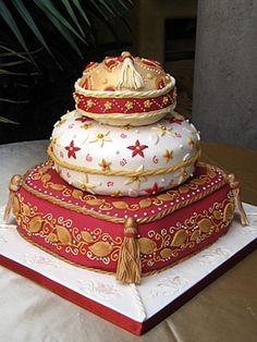 Moroccan Pillow Cake