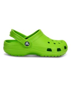 6264208ed76 Another great find on  zulily! Volt Green Classic Clog - Unisex  zulilyfinds  Crocs