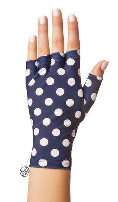 Fun Sun Protection Fingerless Gloves by Solfingers on Etsy
