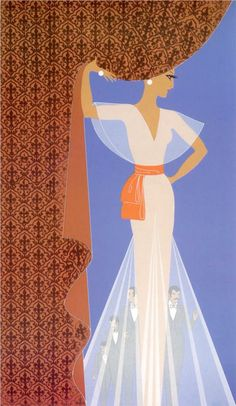 Erté, The Curtain