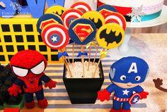 Fabiana+Moura+Projetos+Personalizados+-+Festa+gêmeos+Super+Heróis+e+Frozen+-+super+heróis+cookies.jpg (907×613)