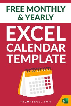 Here is a simple dynamic Excel monthly and yearly calendar that you can download and use. It's dynamic Excel calendar so you can change the year and the month and it would automatically update to give you the calendar for that specific month/year. I want to make sure that it can easily be printed in a single page so that you can use it as a printable Computer Tips, Computer Keyboard, Excel For Beginners, Excel Calendar Template, Excel Hacks, Pivot Table, Yearly Calendar, Microsoft Excel, Day Work