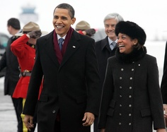 president obama & canada's governor general michaelle jean