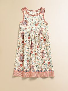 Four-year-old is easy. She'll wear this for the wedding, with embellished sandals.