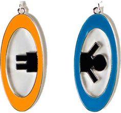 Portal 2 Inter-Spatial Portal Earrings Ear rings Portal 2 http://www.amazon.com/dp/B007IXAFU2/ref=cm_sw_r_pi_dp_OM77tb1GHF332