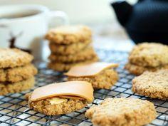 De beste havrekjeksene Bread Baking, Cake Cookies, Entrees, Muffin, Scones, Food And Drink, Healthy Eating, Snacks, Breakfast