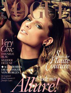 Julia Stegner by Alexi Lubomirski Vogue Deutsch May 2011