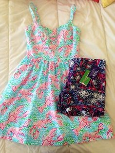 Lilly Pulitzer you have done it again! Preppy Outfits, Summer Outfits, Cute Outfits, Fashion Outfits, Summer Dresses, Summer Clothes, Preppy Fashion, Preppy Girl, Preppy Style