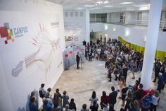 Graphasel Design Studio - client: Ballasi Institute - Campus Hungary Installation, interior, print, arculat, csomagolás, print, Grafikai Stúdió - Budapest, arculattervezés, grafikai tervezés, garfikus, graphic design