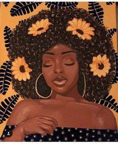 Black Art Painting, Black Artwork, Black Love Art, Black Girl Art, Cartoon Kunst, Cartoon Art, African American Art, African Art, Vexx Art