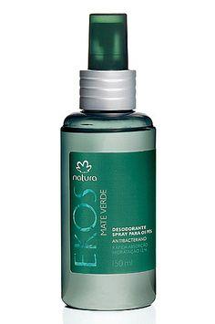 Desodorante Spray para os Pés Mate Verde