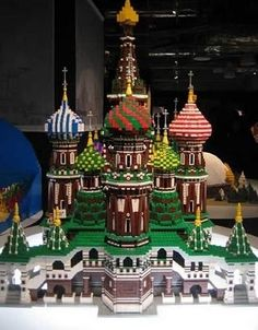 15 Insane LEGO Creations | The Kremlin