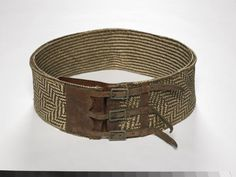 Object: Tatua (belt) | Collections Online - Museum of New Zealand Te Papa Tongarewa