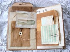 Junk Journal, Blank Book, Naked Journal ready to be decorated, Smash  Book, Travel Journal, Glue Book, Rustic, Shabby Scrap