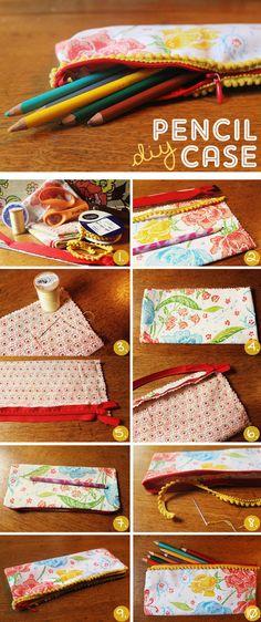pencil case #DIY