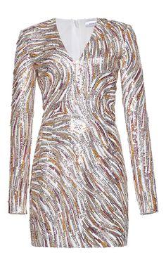 Zuhair Murad Short Sequin Dress