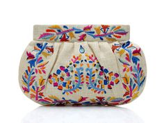 Love this, because I have one similar I inherited from my Stylish Grandmother!!  Never fail to get a fabulous comment on it!  Embroidered Clutch by Moyna from Kelly Rutherford on OpenSky
