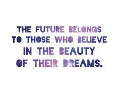 Eleanor Roosevelt Quote Dream Print
