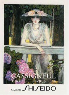 Jean-Pierre Cassigneul, lithographies et publicitaires.