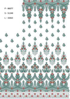 Multi / Flat Designs / Saree Designs / Design Code: 134849 / Stitch: 86077 / Area/width (in mm): 250 / Niddle/colour: 2 / Height (in mm): 1002