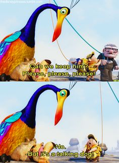 Disney Movie Scene: Russel, Up Disney Up, Disney Girls, Disney Love, Disney Magic, Funny Disney, Disney Stuff, Pixar Quotes, Disney Quotes, Movie Quotes