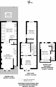 Check out this property for sale on Rightmove! Floorplan area for info only, not for £sq/ft val House Extension Plans, House Extension Design, Extension Ideas, House Design, House Layout Plans, House Layouts, Victorian Terrace House, Victorian Homes, Kitchen Floor Plans