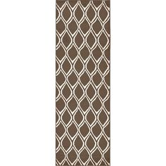 Found it at Wayfair - Trellis Brown Area Rug