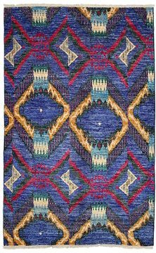 "Ikat Collection Rug, 4'7"" x 7'1"""