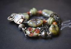 Deborah JLambson artisan glass jewelry