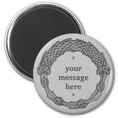 Customizable Magne OUROBOROS II grey Gofts For Mom, I Love Mom, Detail Shop, Round Magnets, Paper Cover, Fathers Day, Kitchen Accessories, Gifts, Future