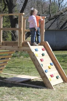 Build a Playset: Super Summer Kid Activities : 9 Steps (with Pictures) - Instructables Summer Activities For Kids, Summer Kids, Kid Activities, Backyard Playground, Backyard For Kids, Toddler Playground, Wood Playground, Kids Outdoor Playground, Playground Ideas
