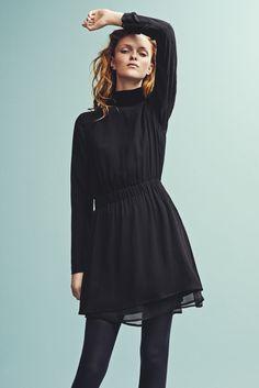 Holzweiler AW15 Collection - Seoul Black Dress + Haiti Black Top