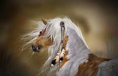 comanche indian horses | comanche-sylvia-de-klerk.jpg#comanche%20horses%20fantasy%20art ...