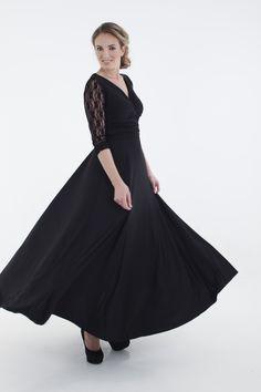 Winter wrap Infinity lace dress R799  www.infinity-dress.co.za