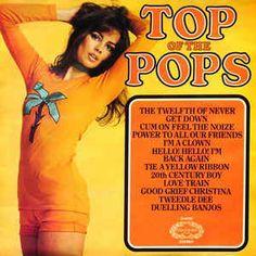 Top of the Pops Compilation LP's Vinyl Albums Records Lp Cover, Vinyl Cover, Pub Vintage, Pop Albums, Cool Album Covers, Pochette Album, Pop Hits, Cover Songs, Pop Vinyl