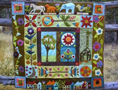 Tom Miner Quilts and Folk Art: Day 3 of the Quilt Challenge